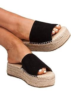cc9c441ef39 Amazon.com | Coolway Women's Bory Espadrille Wedge Sandal ...