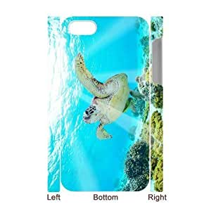 EZCASE Tortoise Phone Case For Iphone 5C [Pattern-1]