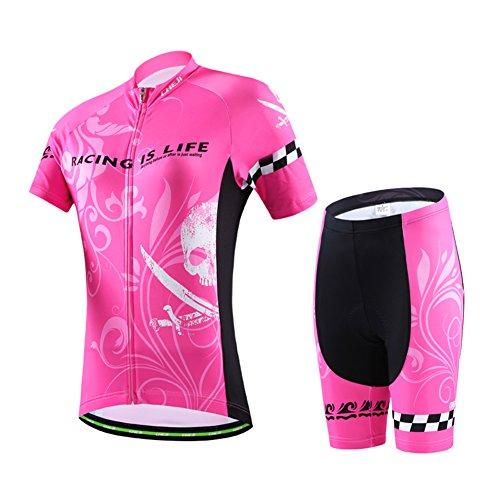 カフェ結婚批判的にLPATTERN サイクリングジャージ スポーツウェア 自転車服 レディース 運動 山登り 上下セット 高品質 多色 正規品