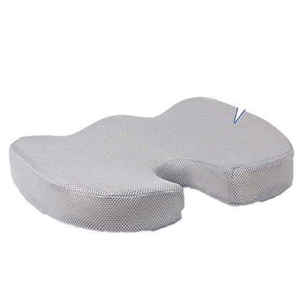 Cojín ortopédico de silicona para masaje de coxis con espuma ...