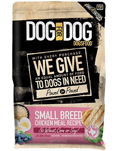 Dog For Dog Dogsfood Small Breed Chicken Meal Recipe – 4Lb, 1Piece For Sale