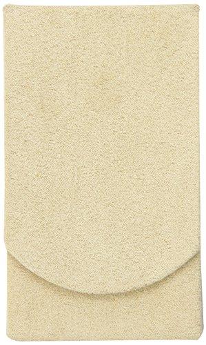(Boston International Tan Faux Suede Pocket Tissue Holder)