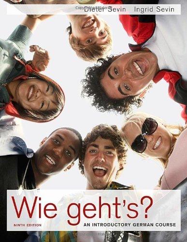 Read Online By Dieter Sevin - Wie geht's? (9th Edition) (1/31/10) pdf epub
