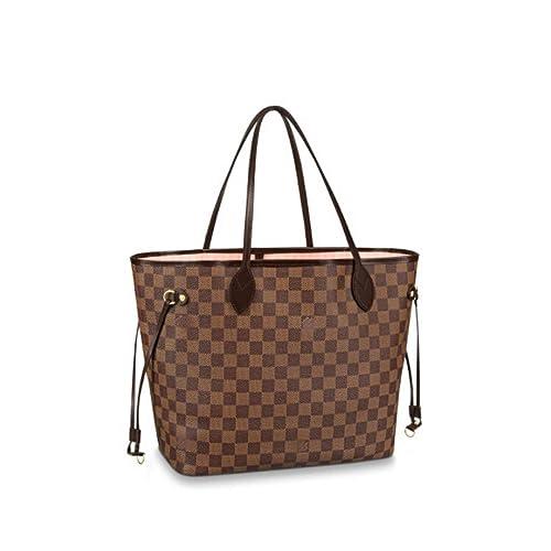 175d8424aab8 HPASS Neverfull Style Designer Woman Organizer Handbag Damier Tote Shoulder  Fashion Bag Medium Size  Amazon.ca  Shoes   Handbags