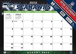 Turner 2016 17-Month Desk Pad, Seattle S...
