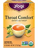 Yogi Tea, Throat Comfort, 16 Count (Pack of 6), Packaging May Vary
