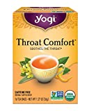 Yogi Tea - Throat Comfort - Soothes the Throat - 6 Pack, 96 Tea Bags Total