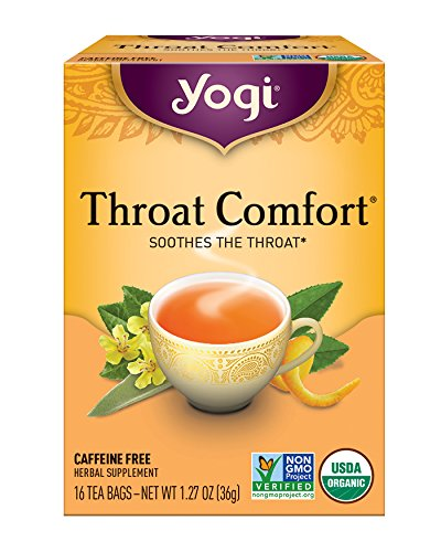 mfort - Soothes the Throat - 6 Pack, 96 Tea Bags Total ()