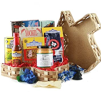 Amazon.com : Tastes of Texas - Texas Gift Basket : Gourmet Candy ...