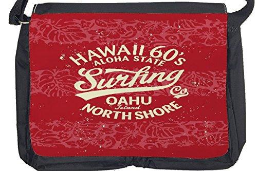 Borsa Tracolla Avventuriero Oahu Stampato