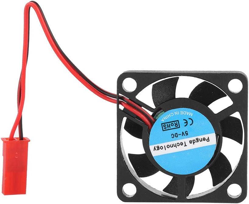 Mugast 3D Printer Fans,5PCS 8500RPM Fast Heat Dissipation 3D Printer Fan 4CFM Large Wind-Force 3D Printer Cooler with Low Noise Support Quiet Heat Dissipation