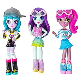 "Off the Hook Style Doll 3 Pack, 4"" Small Dolls with Mix & Match Fashions & Accessories, for Girls Aged 5 & Up, Exclusively at Amazon"