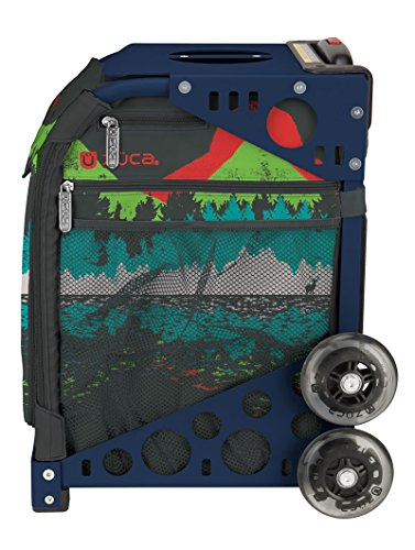 Zuca Into the Woods Sport Insert Bag and Navy Blue Frame with Flashing Wheels by ZUCA (Image #2)'