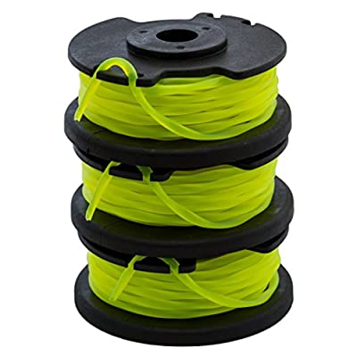 "GardenNinja 0.080"" Replacement Trimmer Spool Compatible Ryobi One Plus AC80RL3, 3-Pack"