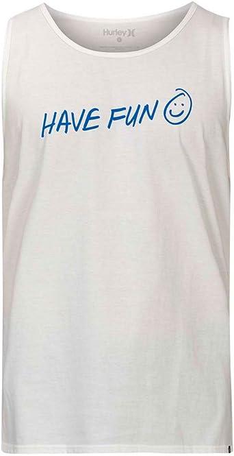 Hurley M Have Fun Tank Camiseta De Tirantes Hombre