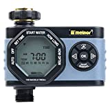 Melnor 53015 Single-Outlet Digital Water Timer, Simple and Flexible Programming, Easy Manual Override