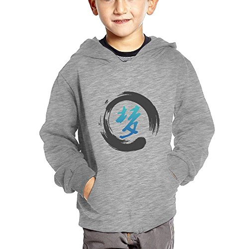 Chinese Dream Symbol Baby Pullover Hoodies With Big Pockets