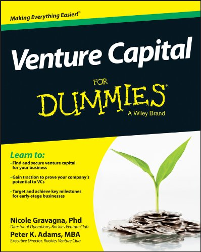 Venture Capital For Dummies (Find The Best Venture Capital)