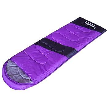 Guo Bolsa de dormir para adultos Al aire libre Escalada de camping Almohada Primavera y otoño Manténgase caliente con un sombrero Saco de dormir: Amazon.es: ...