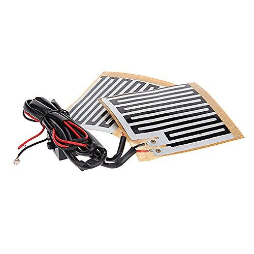 UXOXAS Motorcle Handlebar Electrical Heater Band by UXOXAS
