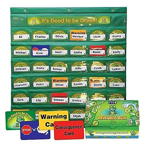 Primary Teaching Services GGSPG - Panel de comportamiento para los niños: Amazon.es: Oficina y papelería