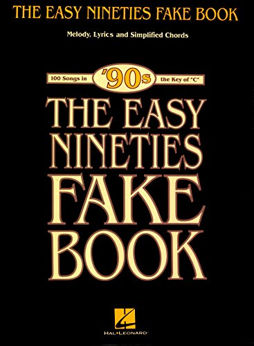 The Easy Nineties Fake Book Melody Lyrics Simplified Chords For