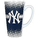 MLB Licensed New York Yankees Sculpted Logo Latte Cup Mug