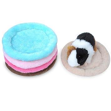 SWIDUUK Soft Plush Guinea Pig Bed Winter Small Animal Cage Mat Guinea Pig Hamster Sleeping Bed
