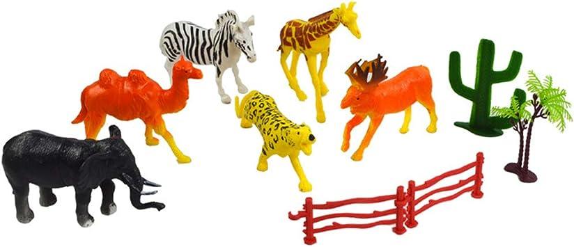 6-Pack Animal Figures - Modelo De Estatuilla De Juguete Realista ...