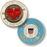 I Love My Coastie Challenge Coin by Northwest Territorial Mint