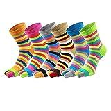 Cheap Men's&Women's Five Toe Socks Cotton Activity Running No-show Finger Socks(TYPE ONE)