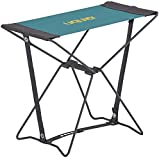 Uquip Portable Folding Stool Fancy for Camping and Sports - Petrol / Gray