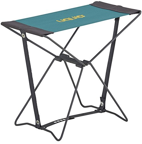 Uquip Portable Folding Stool Fancy for Camping and Sports - Petrol / Gray by Uquip