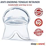 Advanced Sleep Aid - Sleep Solution for Snoring Problems - Tongue Stabilizer/Tongue Retainer