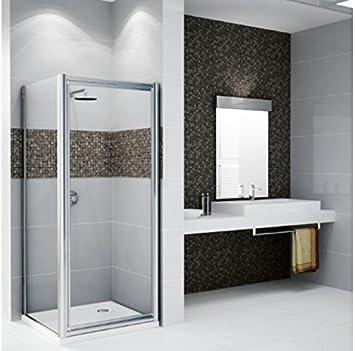 New Star F: paredes fijo lateral de ducha Novellini 66 cm a 90 cm: Amazon.es: Bricolaje y herramientas