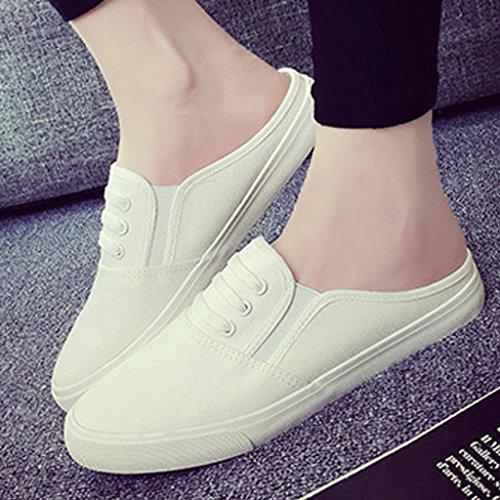 5 Baotou 44 porter 41 uk7 chaussures coréenne pantoufles baotou 7 9 XIE taille us8 usure Men's 41 2018 talon la demi un Peas nouvelle 5 de version 5 7 paresseux UK 5 traîne 8 US sans fq4a15R
