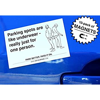 Do Your Park Magnets - Bad Parking Tickets (Pack of 10)