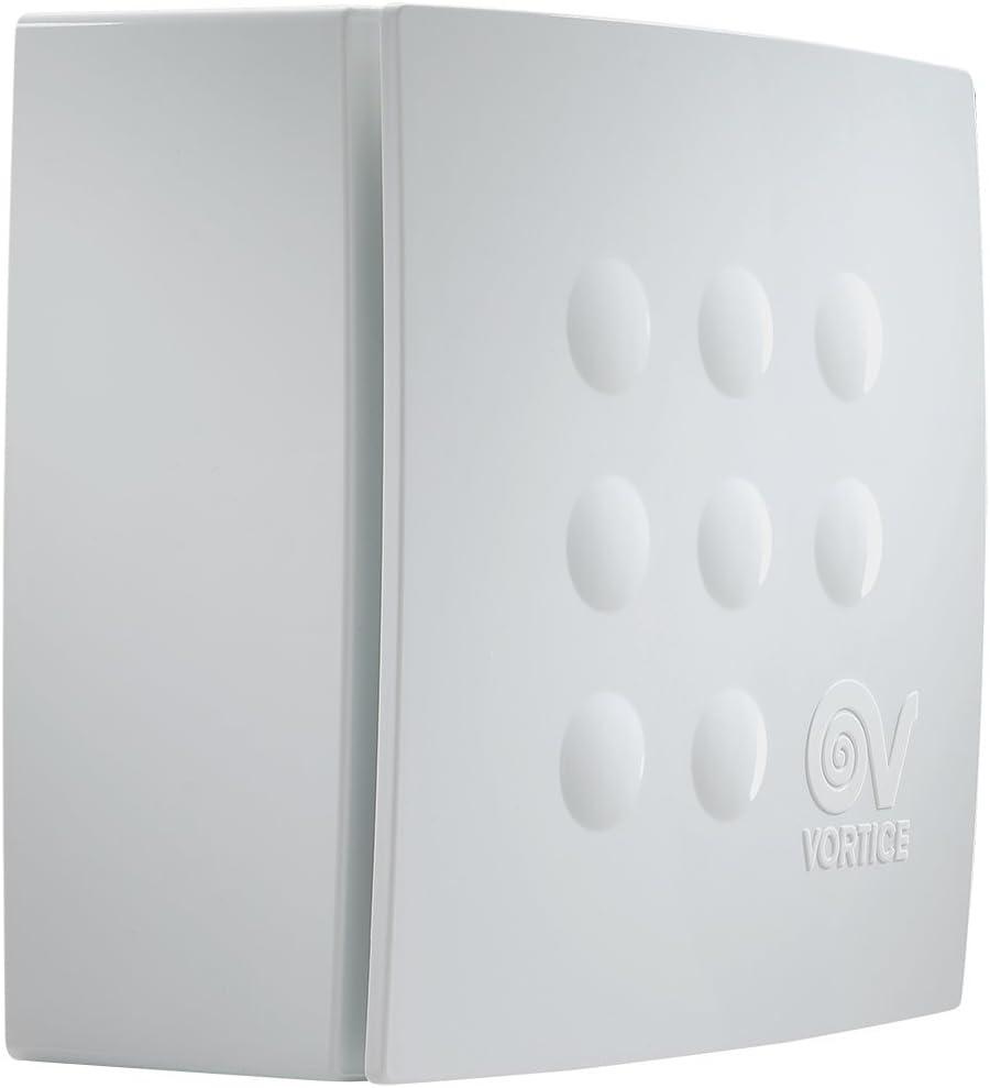 Vortice - Aspirador centrífugo para conductos Quadro, Blanco, 1 ...