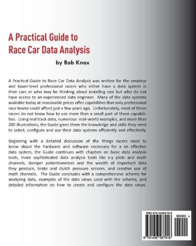 A Practical Guide to Race Car Data Analysis Paperback – March 5, 2011