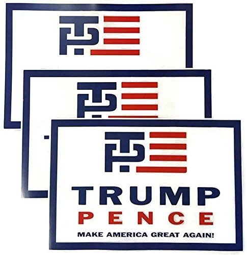 Donald Trump Mike Pence Republican Campaign Inaugural Poster Set Of 3