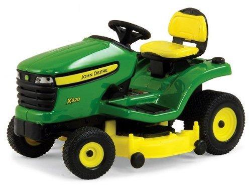 B2B Replicas ERT45484 ERTL - John Deere X320 Lawn Mower (Diecast Lawn Mower)