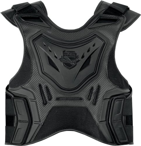 Icon Stryker Field Armor Protection Vest Stealth XX-Large/XXX-Large