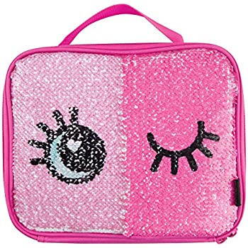 Amazon.com: Mingdou Magic Unicorn Sequin Lunch Box Tote