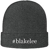 One Legging it Around #Blakelee - Soft Hashtag Adult Beanie Cap, Grey