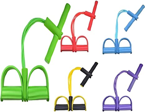 hdfj12138 11 Pc Resistance Bands Set Expander Yoga Exercise Fitness Rubber Tubes Band Stretch Training Home Gyms Workout Elastic Pull Rope