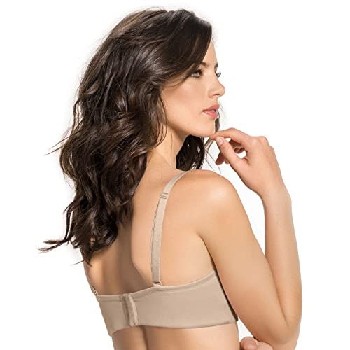 b0841734365fd Leonisa Women s Slimming Strapless Wide Back No Bulge Bra free shipping