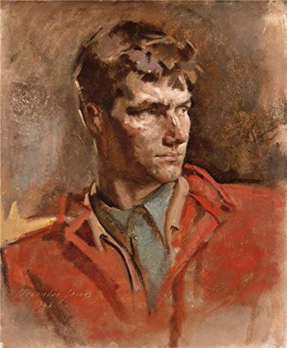 Perfect Effect Canvas ,the Cheap But High Quality Art Decorative Art Decorative Prints On Canvas Of Oil Painting 'Alexander James,Sandy,1942', 8x10 Inch / 20x25 Cm Is Best For Wall Art Artwork And Home Artwork And ()
