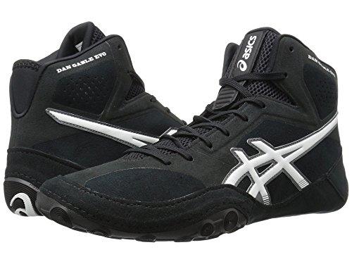 [asics(アシックス)] メンズランニングシューズ?スニーカー?靴 Dan Gable Evo Black/White/Carbon 9.5 (27.5cm) D - Medium