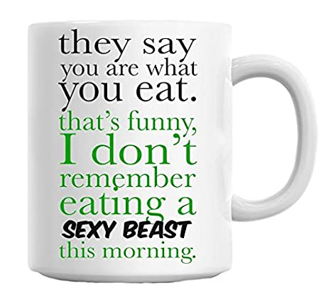 You Are What You Eat Mug