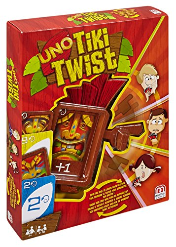Mattel Games UNO Tiki Trouble Card Game ()